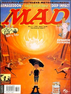 Go to MAD Magazine #136 • Finland • 2nd Edition - Semic