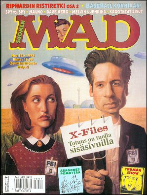 MAD Magazine #137 • Finland • 2nd Edition - Semic