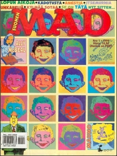 Go to MAD Magazine #138 • Finland • 2nd Edition - Semic