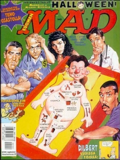Go to MAD Magazine #139 • Finland • 2nd Edition - Semic