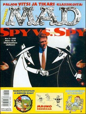 MAD Magazine #140 • Finland • 2nd Edition - Semic