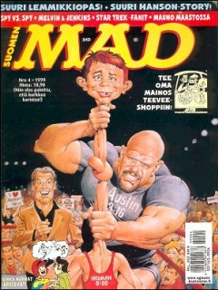 Go to MAD Magazine #141 • Finland • 2nd Edition - Semic