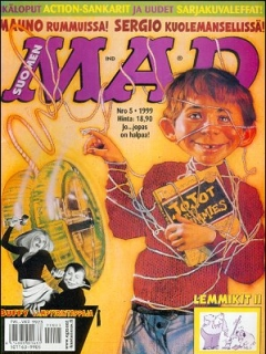 Go to MAD Magazine #142 • Finland • 2nd Edition - Semic