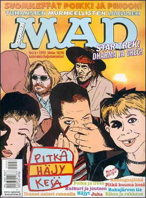 MAD Magazine #143 • Finland • 2nd Edition - Semic