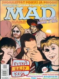 Go to MAD Magazine #143 • Finland • 2nd Edition - Semic