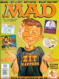 Go to MAD Magazine #144 • Finland • 2nd Edition - Semic