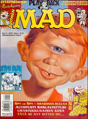MAD Magazine #146 • Finland • 2nd Edition - Semic