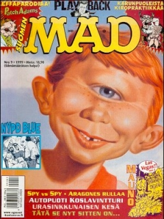 Go to MAD Magazine #146 • Finland • 2nd Edition - Semic