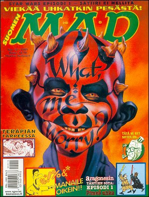MAD Magazine #10 1998 • Finland • 2nd Edition - Semic
