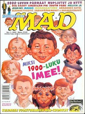 MAD Magazine #150 • Finland • 2nd Edition - Semic
