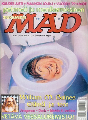 MAD Magazine #152 • Finland • 2nd Edition - Semic