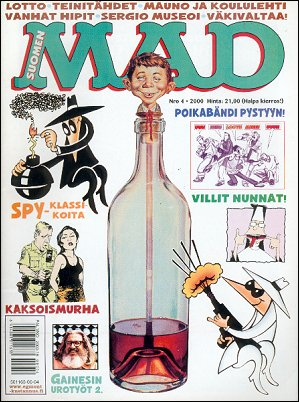 MAD Magazine #153 • Finland • 2nd Edition - Semic