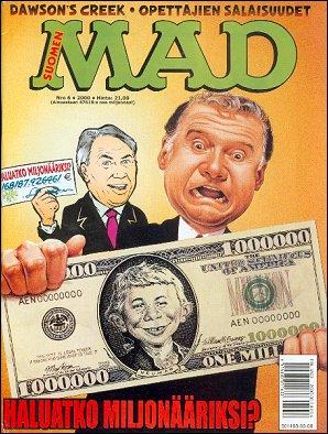 MAD Magazine #6 • Finland • 2nd Edition - Semic