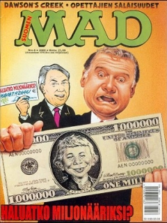 Go to MAD Magazine #155 • Finland • 2nd Edition - Semic