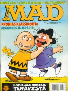 Go to MAD Magazine #156 • Finland • 2nd Edition - Semic