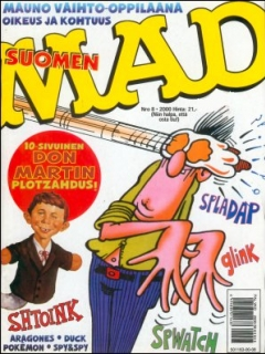 Go to MAD Magazine #157 • Finland • 2nd Edition - Semic