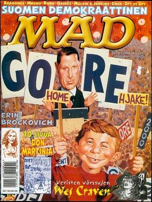 MAD Magazine #158 • Finland • 2nd Edition - Semic