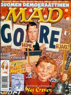 Go to MAD Magazine #158 • Finland • 2nd Edition - Semic