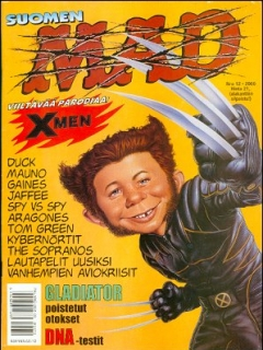 MAD Magazine #161 • Finland • 2nd Edition - Semic