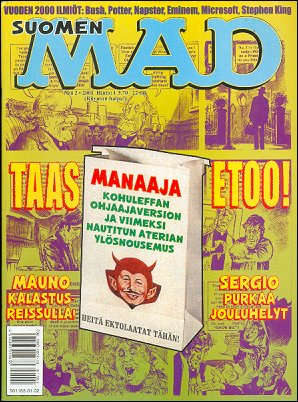 MAD Magazine #163 • Finland • 2nd Edition - Semic