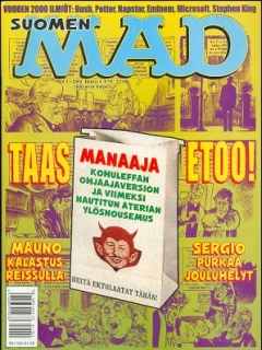 Go to MAD Magazine #163 • Finland • 2nd Edition - Semic