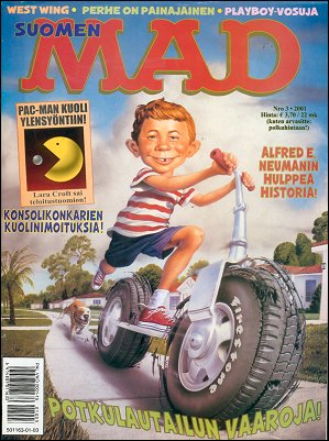 MAD Magazine #164 • Finland • 2nd Edition - Semic