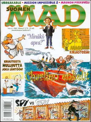 MAD Magazine #165 • Finland • 2nd Edition - Semic