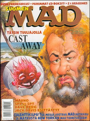 MAD Magazine #166 • Finland • 2nd Edition - Semic