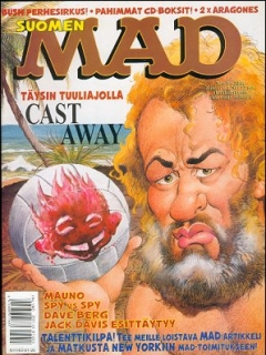 Go to MAD Magazine #166 • Finland • 2nd Edition - Semic