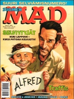 MAD Magazine #167 • Finland • 2nd Edition - Semic