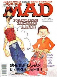Go to MAD Magazine #169 • Finland • 2nd Edition - Semic