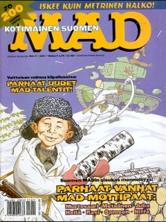 Go to MAD Magazine #170 • Finland • 2nd Edition - Semic
