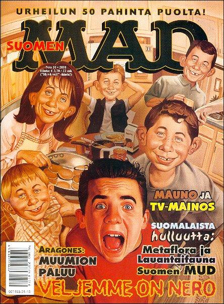 MAD Magazine #171 • Finland • 2nd Edition - Semic