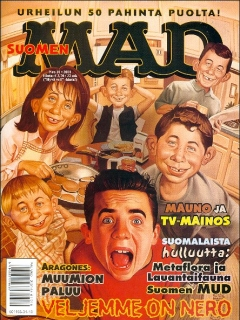 Go to MAD Magazine #171 • Finland • 2nd Edition - Semic