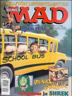 Go to MAD Magazine #172 • Finland • 2nd Edition - Semic
