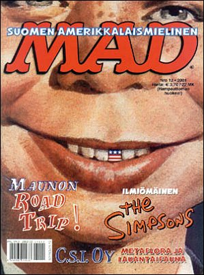 MAD Magazine #173 • Finland • 2nd Edition - Semic