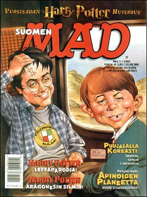 MAD Magazine #174 • Finland • 2nd Edition - Semic