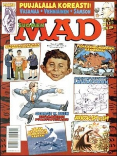 Go to MAD Magazine #175 • Finland • 2nd Edition - Semic