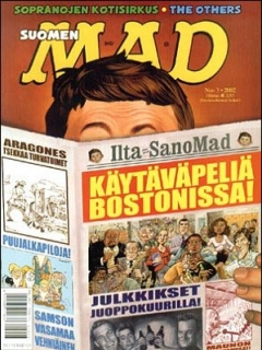 Go to MAD Magazine #176 • Finland • 2nd Edition - Semic