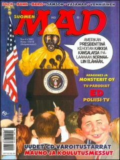 Go to MAD Magazine #177 • Finland • 2nd Edition - Semic
