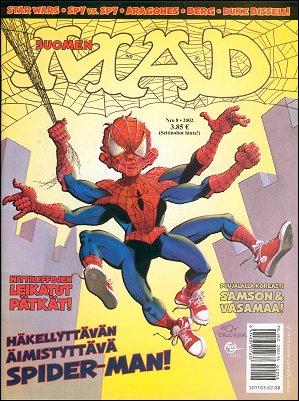 MAD Magazine #8 2001 • Finland • 2nd Edition - Semic