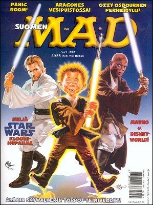 MAD Magazine #9 2001 • Finland • 2nd Edition - Semic