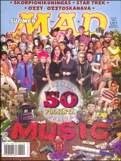 Go to MAD Magazine #183 • Finland • 2nd Edition - Semic