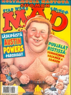 Go to MAD Magazine #184 • Finland • 2nd Edition - Semic