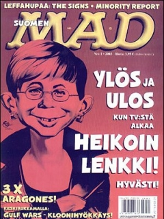 Go to MAD Magazine #186 • Finland • 2nd Edition - Semic