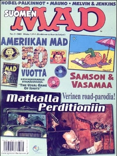 Go to MAD Magazine #187 • Finland • 2nd Edition - Semic
