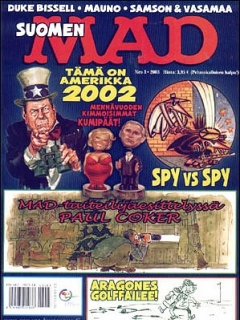 Go to MAD Magazine #188 • Finland • 2nd Edition - Semic