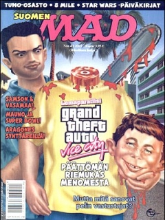 Go to MAD Magazine #189 • Finland • 2nd Edition - Semic