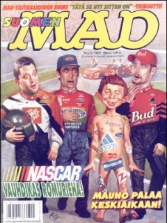 Go to MAD Magazine #190 • Finland • 2nd Edition - Semic