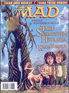 Go to MAD Magazine #191 • Finland • 2nd Edition - Semic
